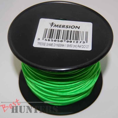 Линь IMERSION Dyneema 1,9x50 зеленый