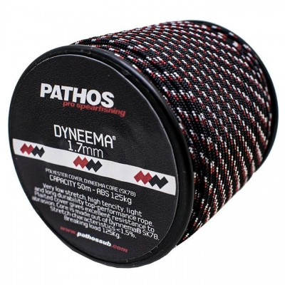 Линь Pathos Dyneema 1.7 BLACK