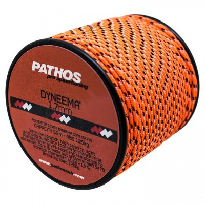 Линь Pathos Dyneema 1.7 ORANGE